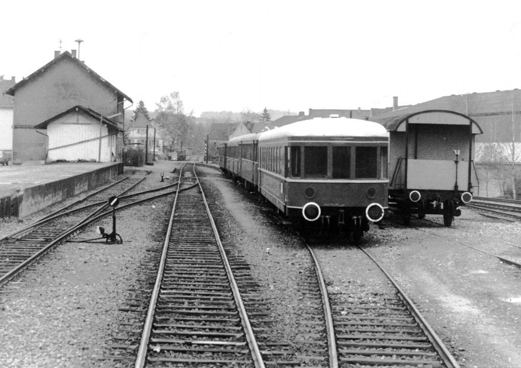 Bahnhof Odenheim 1979