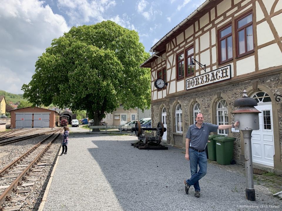 Bahnhof Dörzbach am 01.05.2019