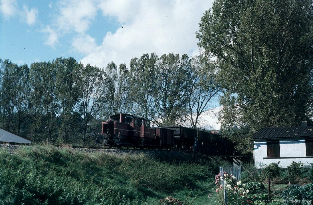 Betrieb auf der SWEG Jagsttalbahn