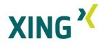 Mein Profil bei Xing - nur für Mitglieder einsehbar